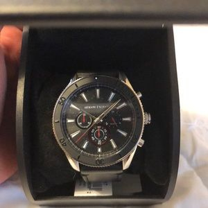 NEW ARMANI EXCHANGE AX1817 Chronograph Mens Watch